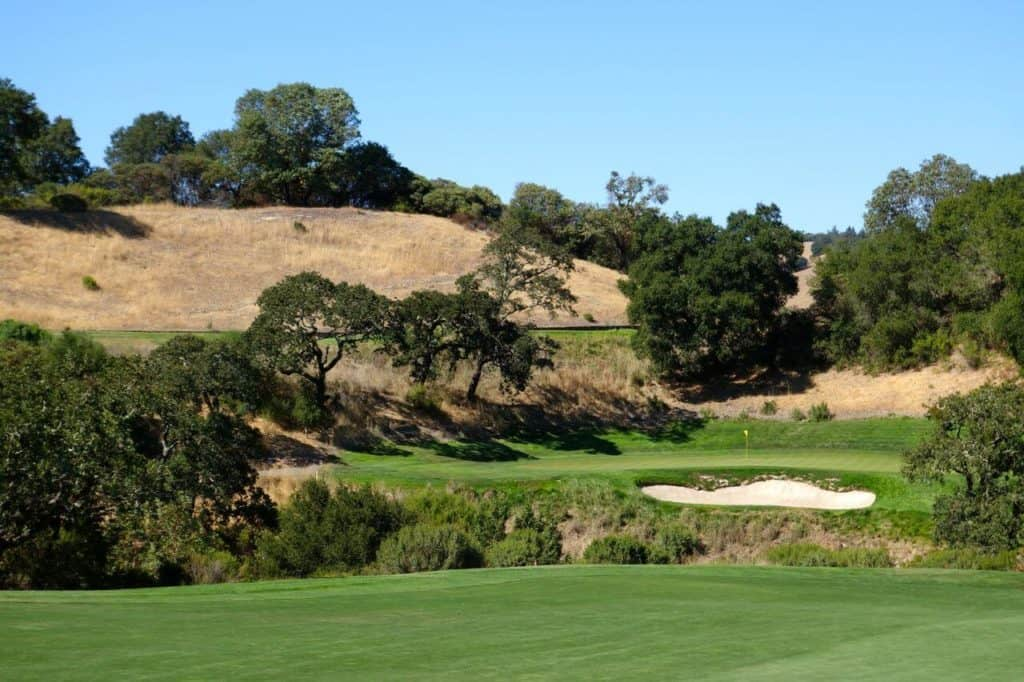 Mayacama Hole 15 Approach